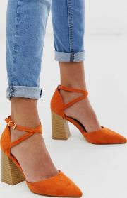 Aubrey Stacked Heeled Shoes