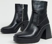 Lexus Chunky Ankle Boots