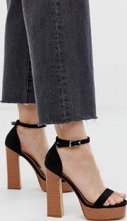 Marianna Stacked Platform Sandals