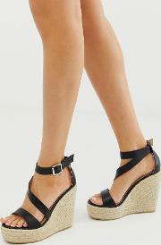 Zain Espadrille Wedge Sandals