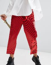 Halloween Inspired Relaxed Trousers  Stripe