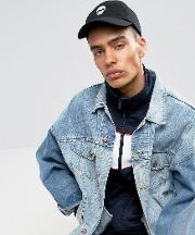 inspired baseball cap with skull embroidery