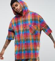 Inspired Overhead Shirt  Reg Fit With Hood