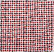 inspired pocket square   gingham check