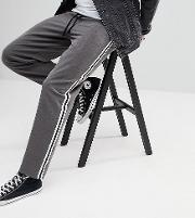 inspired relaxed trouser with side tape detail