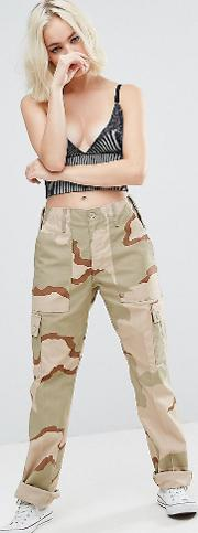 Revived Military Trousers  Camo