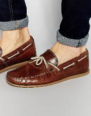 Driving Loafers  Tan Leather