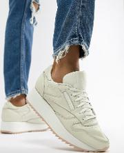 Classic Leather Double Trainers