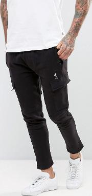 Cropped Cargo Jogger