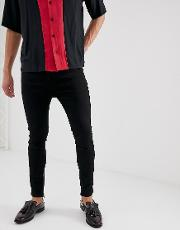 Drop Crotch Skinny Jean With Ripped Back