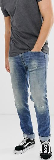Anbass Slim 10 Year Aged Jeans