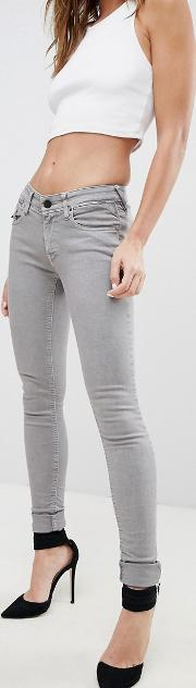 Luz Zip Pocket Skinny Jeans