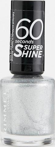 Rimmel 60 Seconds Glitter Nail Polish Extra