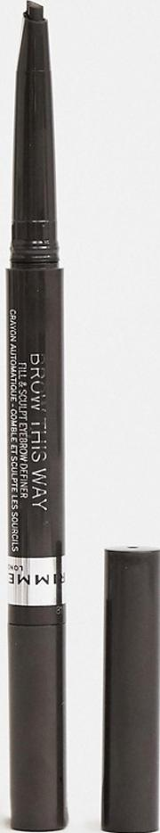 Rimmel Brow This Way Fill & Sculpt Pencil