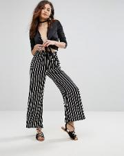 stardust stripe flared pant