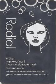 snake oxygenating and cleansing bubble mask