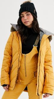 Snow Quin Ski Jacket Quilted