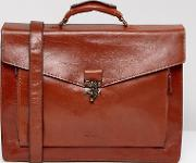 conductor satchel in leather