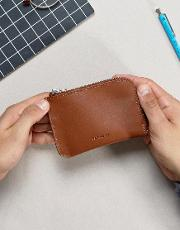 Penny Wallet In Leather