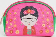 Frida Kahlo Travel Pouch