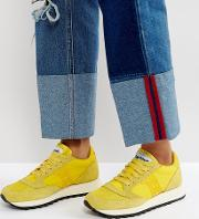 Jazz  Vintage Trainers  Yellow