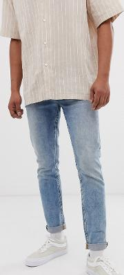 Scotch And Soda Skim Skinny Fit Wash Jeans