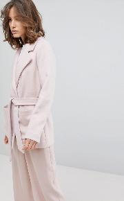 Femme Cropped Trench Coat