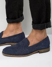 Bolton Perforated Loafers