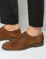 bolton perforated shoes