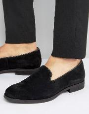 Suede Smart Loafers