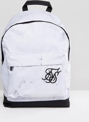 backpack in white