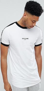 muscle t shirt in white exclusive to asos
