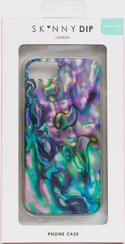 Faux Mother Of Pearl Iphone Case For