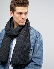 Scarf In Houndstooth Check