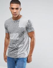 t shirt with cut and sew pattern