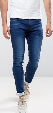 Turn Up Skinny Fit Jeans