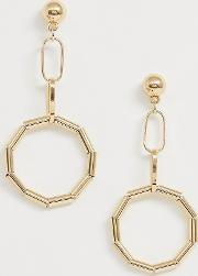 Drop Tube Earrings