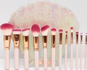asos exclusive the bombshell 12 piece brush set