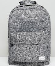 backpack in grey marl