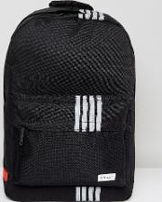 backpack with reflective stripe detail