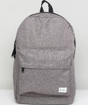crosshatch backpack in charcoal