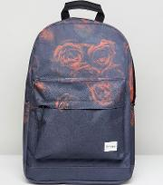 faded rose backpack