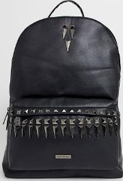 Label Backpack With Stud Detailing