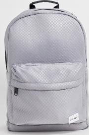 Platinum Backpack Tonal Checkerboard Print
