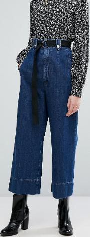 accorta denim trousers