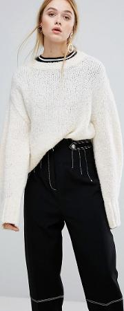 armony knit bell sleeve jumper