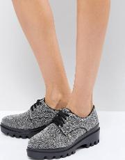 Lace Up Chunky Sole Shoe