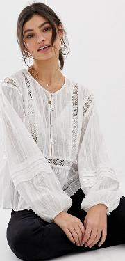The Master Embroidered Blouse