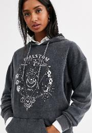 Oversized Sweatshirt With Studs