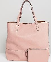 tote bag in blush